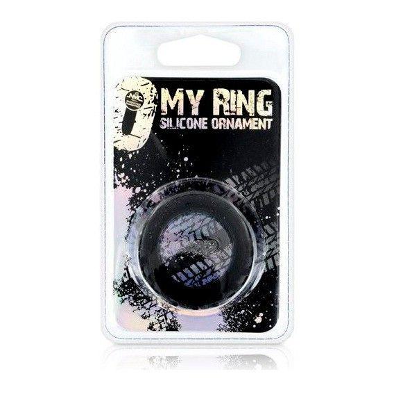 MY RING ANILLA SILICONA NEGRO 42