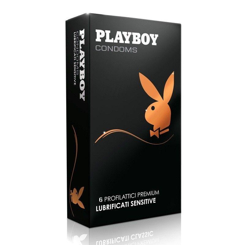 CONDONES PLAYBOY SENSITIVE ( 6 UNIDADES )