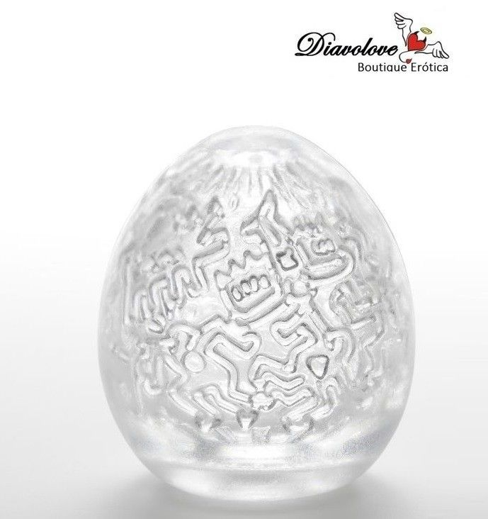 TENGA EGG PARTY EASY ONA-CAP BY KEITH HARING
