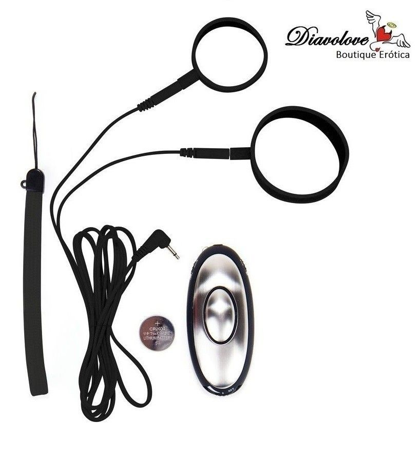 OUCH ELECTRO COCKRING SET WITH CONTROL UNIT
