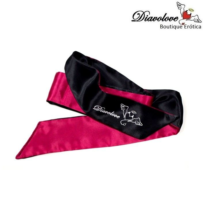 BLACK AND PINK BLINDFOLD DIAVOLOVE