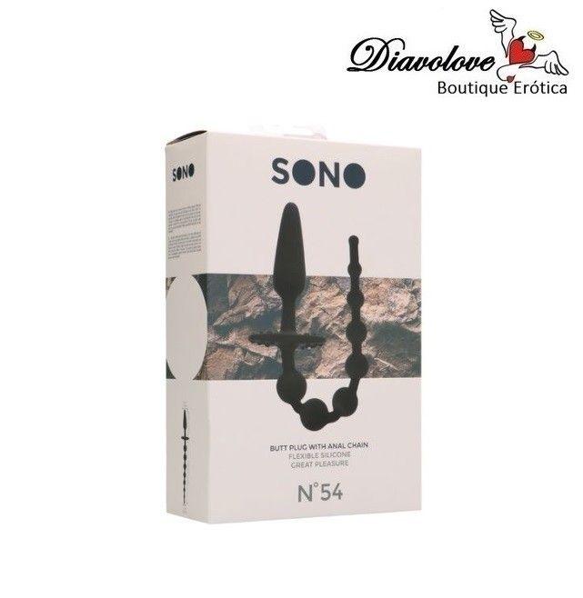 SONO - NO.54 PLUG ANAL CON CADENA