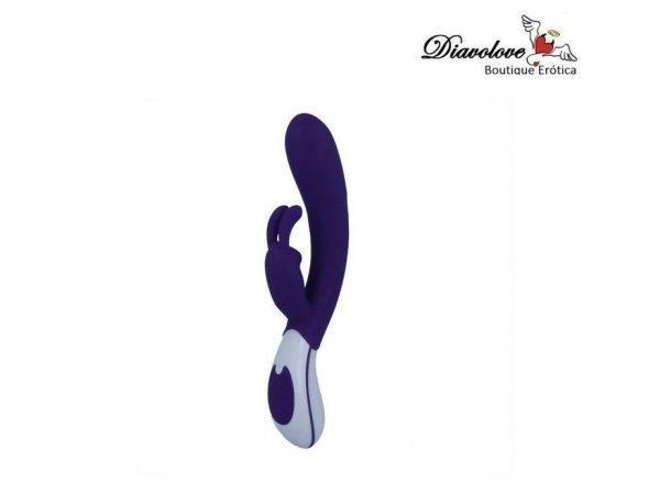 INTENSE WHISPER USB VIBRADOR SILICONA LILA